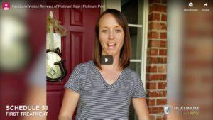 Tulsa Pest Control Testimonial 1